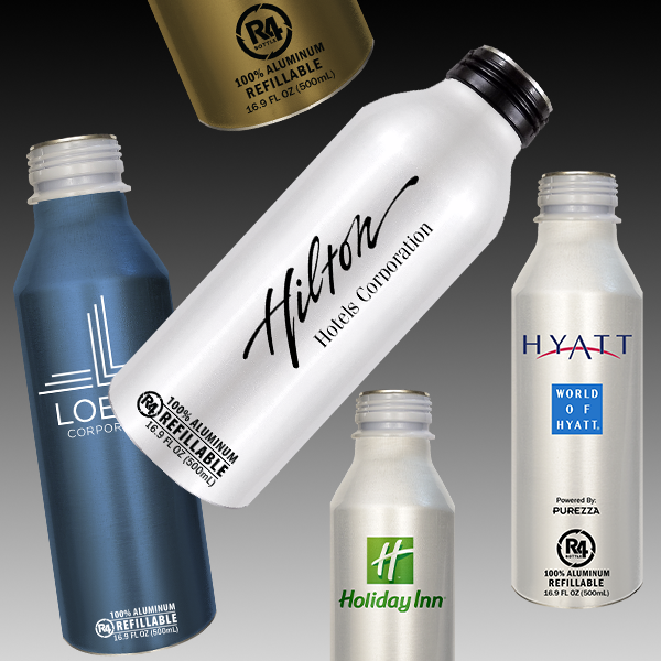 R4 Bottles: 100% Aluminum Bottle, Recyclable, Sustainable.